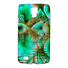 Spring Leaves, Abstract Crystal Flower Garden Samsung Galaxy S4 Active (I9295) Hardshell Case