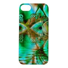 Spring Leaves, Abstract Crystal Flower Garden Apple Iphone 5s Hardshell Case