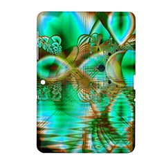 Spring Leaves, Abstract Crystal Flower Garden Samsung Galaxy Tab 2 (10 1 ) P5100 Hardshell Case