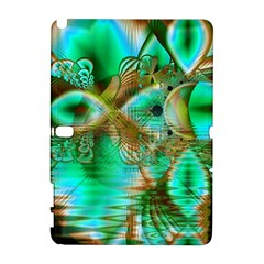 Spring Leaves, Abstract Crystal Flower Garden Samsung Galaxy Note 10.1 (P600) Hardshell Case