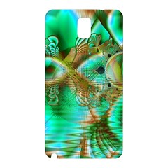 Spring Leaves, Abstract Crystal Flower Garden Samsung Galaxy Note 3 N9005 Hardshell Back Case