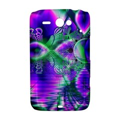 Evening Crystal Primrose, Abstract Night Flowers HTC ChaCha / HTC Status Hardshell Case