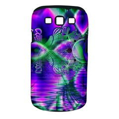 Evening Crystal Primrose, Abstract Night Flowers Samsung Galaxy S Iii Classic Hardshell Case (pc+silicone)