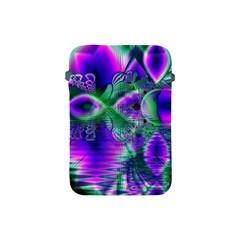 Evening Crystal Primrose, Abstract Night Flowers Apple iPad Mini Protective Sleeve