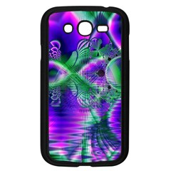 Evening Crystal Primrose, Abstract Night Flowers Samsung Galaxy Grand DUOS I9082 Case (Black)