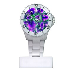 Evening Crystal Primrose, Abstract Night Flowers Nurses Watch