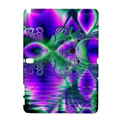 Evening Crystal Primrose, Abstract Night Flowers Samsung Galaxy Note 10.1 (P600) Hardshell Case
