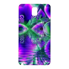 Evening Crystal Primrose, Abstract Night Flowers Samsung Galaxy Note 3 N9005 Hardshell Back Case