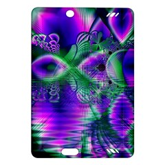 Evening Crystal Primrose, Abstract Night Flowers Kindle Fire HD 7  (2nd Gen) Hardshell Case