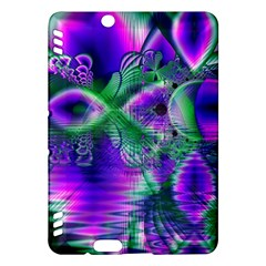 Evening Crystal Primrose, Abstract Night Flowers Kindle Fire Hdx 7  Hardshell Case