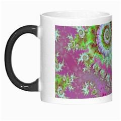 Raspberry Lime Surprise, Abstract Sea Garden  Morph Mug