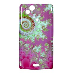 Raspberry Lime Surprise, Abstract Sea Garden  Sony Xperia Arc Hardshell Case