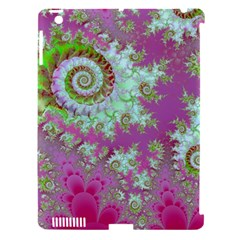 Raspberry Lime Surprise, Abstract Sea Garden  Apple Ipad 3/4 Hardshell Case (compatible With Smart Cover)