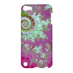 Raspberry Lime Surprise, Abstract Sea Garden  Apple iPod Touch 5 Hardshell Case