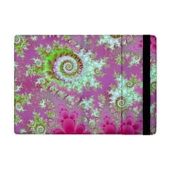 Raspberry Lime Surprise, Abstract Sea Garden  Apple iPad Mini Flip Case