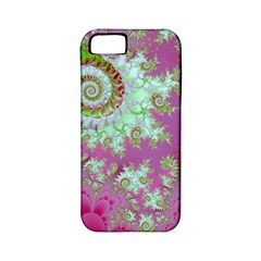 Raspberry Lime Surprise, Abstract Sea Garden  Apple Iphone 5 Classic Hardshell Case (pc+silicone)