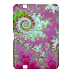 Raspberry Lime Surprise, Abstract Sea Garden  Kindle Fire HD 8.9  Hardshell Case