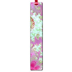Raspberry Lime Surprise, Abstract Sea Garden  Large Bookmark