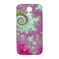 Raspberry Lime Surprise, Abstract Sea Garden  Samsung Galaxy S4 I9500/I9505  Hardshell Back Case