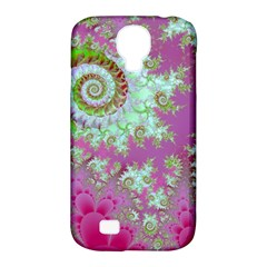 Raspberry Lime Surprise, Abstract Sea Garden  Samsung Galaxy S4 Classic Hardshell Case (PC+Silicone)