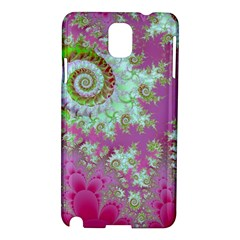 Raspberry Lime Surprise, Abstract Sea Garden  Samsung Galaxy Note 3 N9005 Hardshell Case
