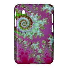Raspberry Lime Surprise, Abstract Sea Garden  Samsung Galaxy Tab 2 (7 ) P3100 Hardshell Case