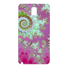 Raspberry Lime Surprise, Abstract Sea Garden  Samsung Galaxy Note 3 N9005 Hardshell Back Case