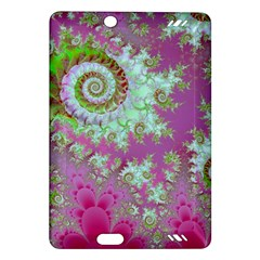 Raspberry Lime Surprise, Abstract Sea Garden  Kindle Fire HD 7  (2nd Gen) Hardshell Case