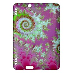 Raspberry Lime Surprise, Abstract Sea Garden  Kindle Fire HDX 7  Hardshell Case