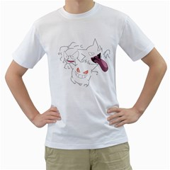 Poke Ghouls Men s T-Shirt (White)