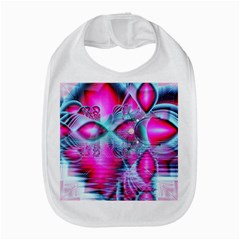 Ruby Red Crystal Palace, Abstract Jewels Bib