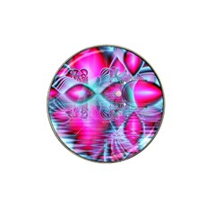 Ruby Red Crystal Palace, Abstract Jewels Golf Ball Marker 4 Pack (for Hat Clip)