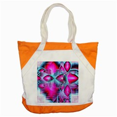 Ruby Red Crystal Palace, Abstract Jewels Accent Tote Bag