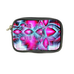 Ruby Red Crystal Palace, Abstract Jewels Coin Purse