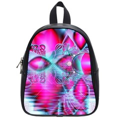 Ruby Red Crystal Palace, Abstract Jewels School Bag (small)