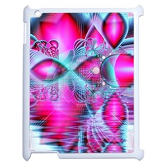 Ruby Red Crystal Palace, Abstract Jewels Apple Ipad 2 Case (white)