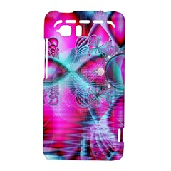 Ruby Red Crystal Palace, Abstract Jewels HTC Vivid / Raider 4G Hardshell Case
