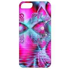Ruby Red Crystal Palace, Abstract Jewels Apple Iphone 5 Classic Hardshell Case