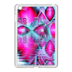 Ruby Red Crystal Palace, Abstract Jewels Apple Ipad Mini Case (white)
