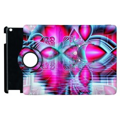 Ruby Red Crystal Palace, Abstract Jewels Apple Ipad 3/4 Flip 360 Case