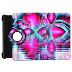 Ruby Red Crystal Palace, Abstract Jewels Kindle Fire HD 7  (1st Gen) Flip 360 Case