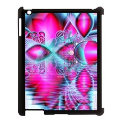 Ruby Red Crystal Palace, Abstract Jewels Apple Ipad 3/4 Case (black)