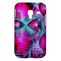 Ruby Red Crystal Palace, Abstract Jewels Samsung Galaxy Ace Plus S7500 Hardshell Case