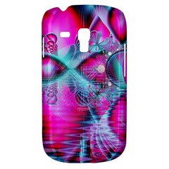 Ruby Red Crystal Palace, Abstract Jewels Samsung Galaxy S3 MINI I8190 Hardshell Case