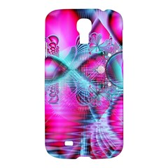 Ruby Red Crystal Palace, Abstract Jewels Samsung Galaxy S4 I9500/I9505 Hardshell Case