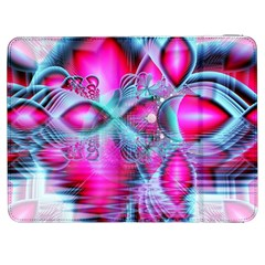 Ruby Red Crystal Palace, Abstract Jewels Samsung Galaxy Tab 7  P1000 Flip Case