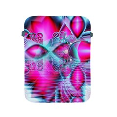 Ruby Red Crystal Palace, Abstract Jewels Apple iPad Protective Sleeve