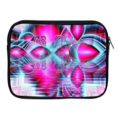 Ruby Red Crystal Palace, Abstract Jewels Apple iPad Zippered Sleeve