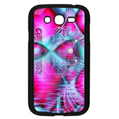Ruby Red Crystal Palace, Abstract Jewels Samsung Galaxy Grand Duos I9082 Case (black)