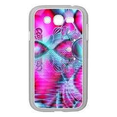 Ruby Red Crystal Palace, Abstract Jewels Samsung Galaxy Grand DUOS I9082 Case (White)